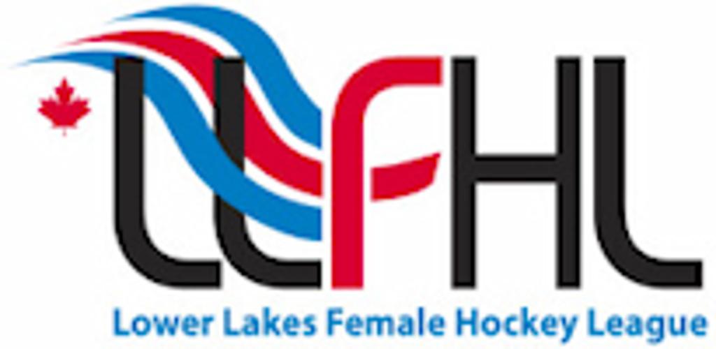 Lower Lakes Female Hockey League logo