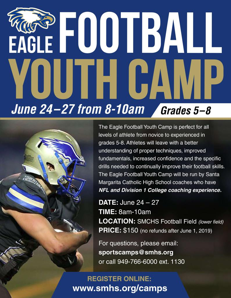 SMCHS Youth Football Camps
