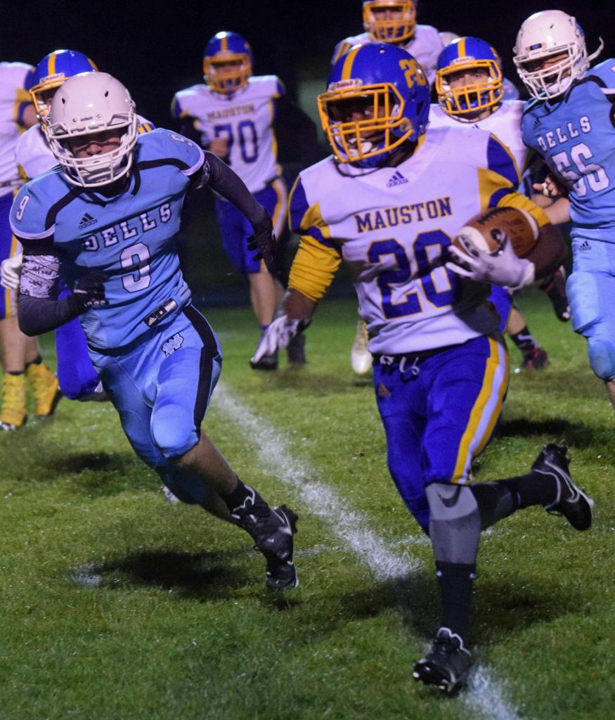 """Kraig Armstrong named """"Player of the Year"""" and """"First Team All South Central Conference Running Back"""""""