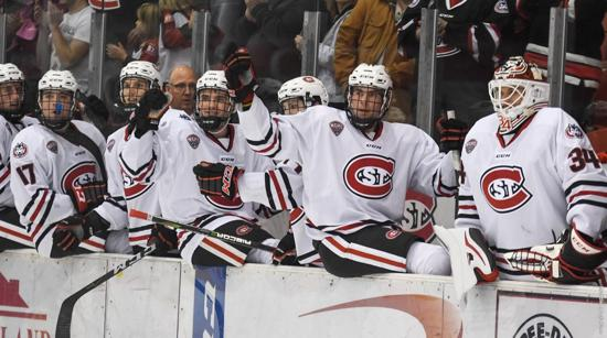 NCHC: St. Cloud State Stays Undefeated