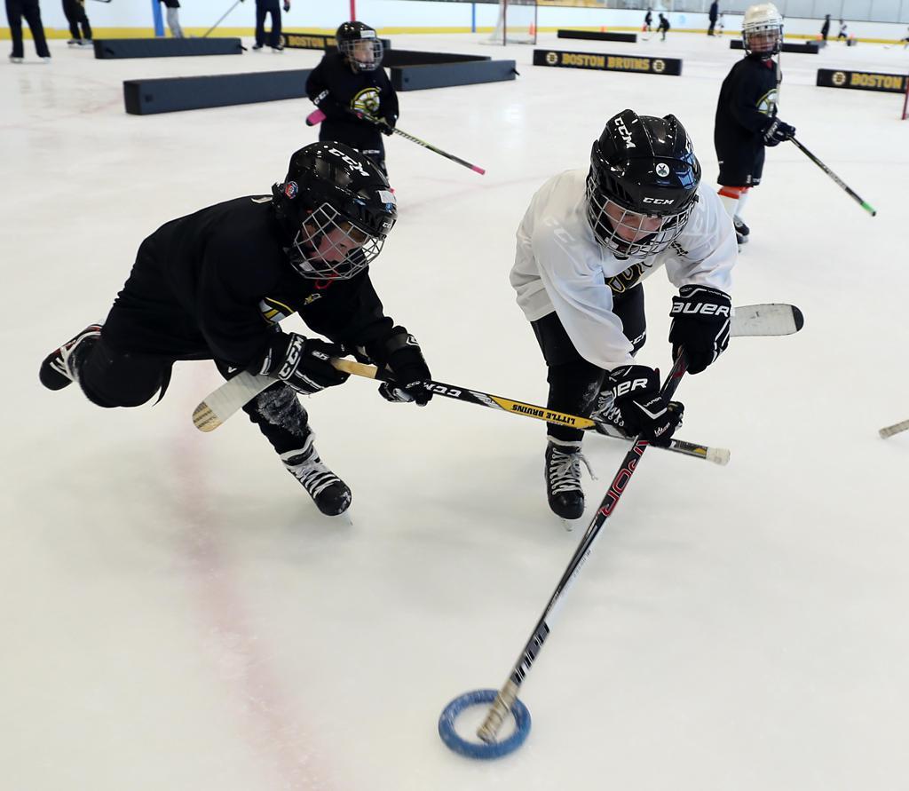 Bruins Deliver Skills, Smiles At LTP Session