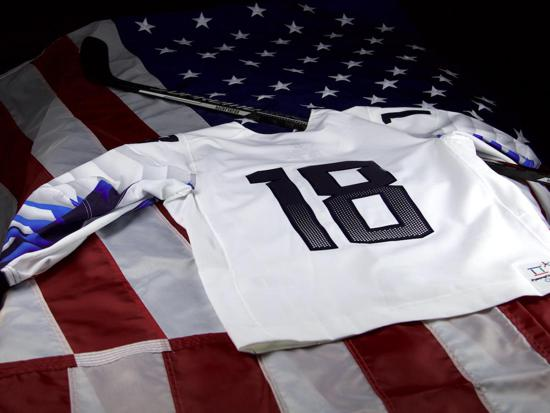 USA Hockey Unveils Nike 2018 Olympic Paralympic Jersey 6c55f21fd44