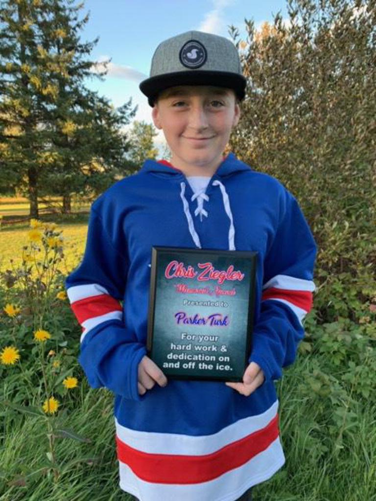 2019-20 Ziegler award winner