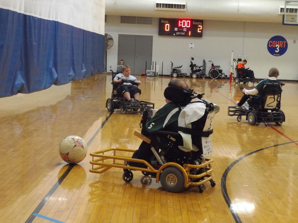 Zak Schmoll Kicking the Ball