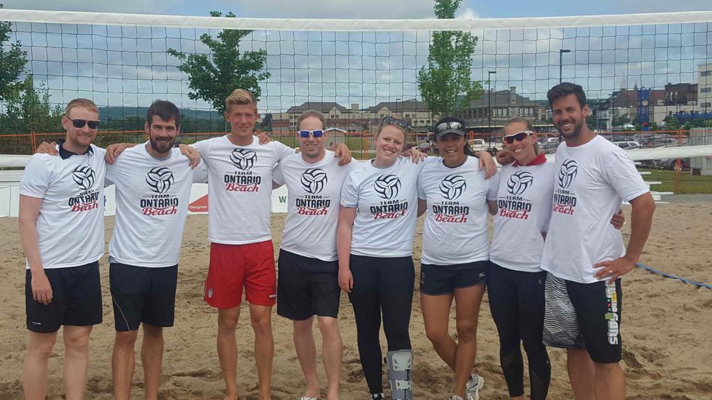 Brad McClure - Team Ontario Beach Coaches