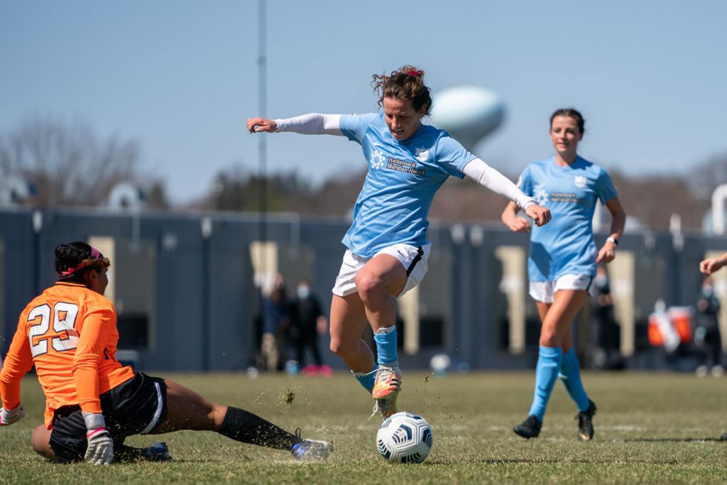 Gotham FC vs University of Virginia Preseason Match - Elizabeth Eddy