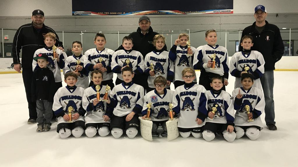 Bulldogs Mite '09s Capture Championship at the Thanksgiving weekend Gobbler Goblet Tournament in Darien