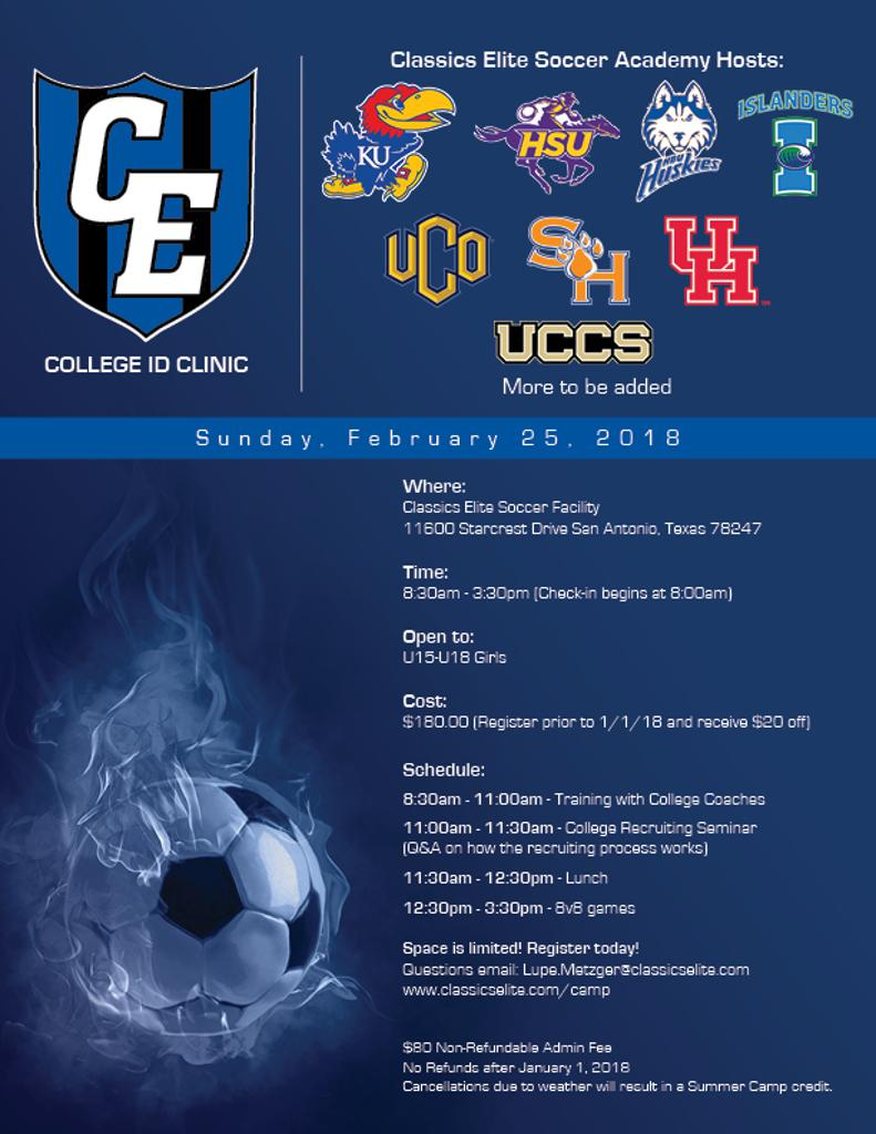 College ID Clinic - Space is limited!