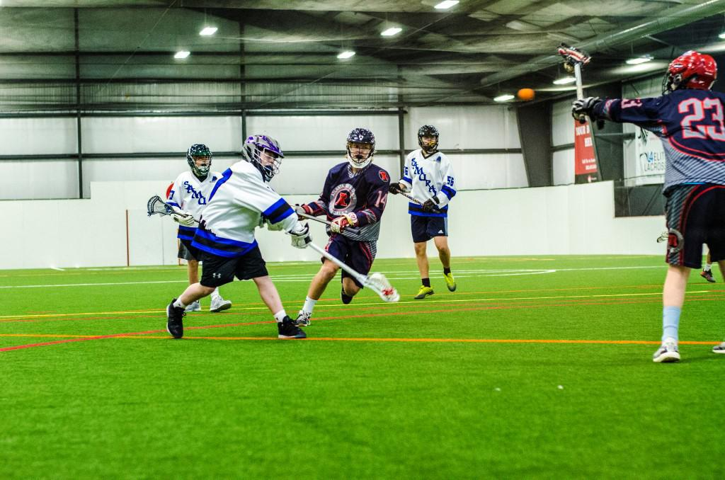 Teams from Kentucky, Tennessee, Missouri, Pennsylvania and Georgia competed in the Louisville event. (Photo: Pipeline Box Lacrosse)