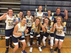 8th Grade Girls Win Dexter Tournament (12/17)