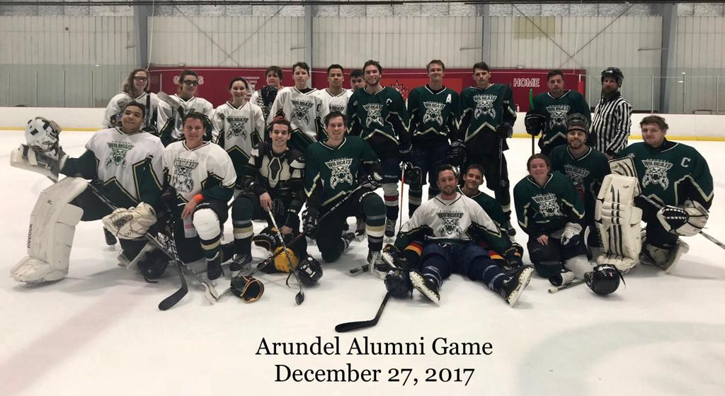 Arundel HS alumni game on 12.27/2017 at Piney Orchard Ice Rink