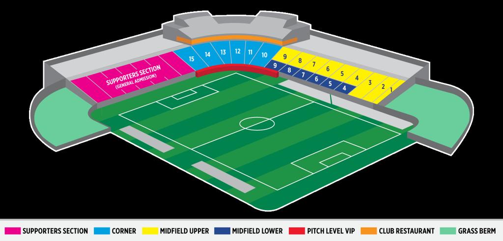 Stadium Seating Map