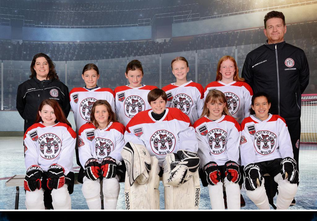 10U White WWFHL Team, 2017-2018