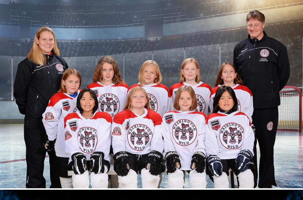 8U White WWFHL Team, 2017-2018