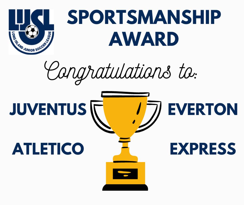Congrats to our 4 LIJSL Sportsmanship Award Winners