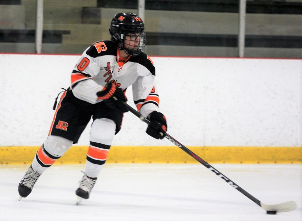 Trey Jefferis named Jr. Flyers Player of the Week for week ending October 6