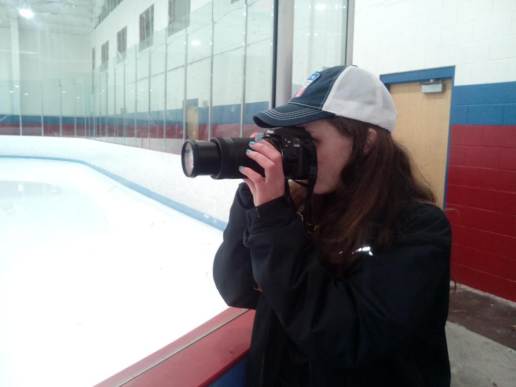 Team photographer Kelly Shea