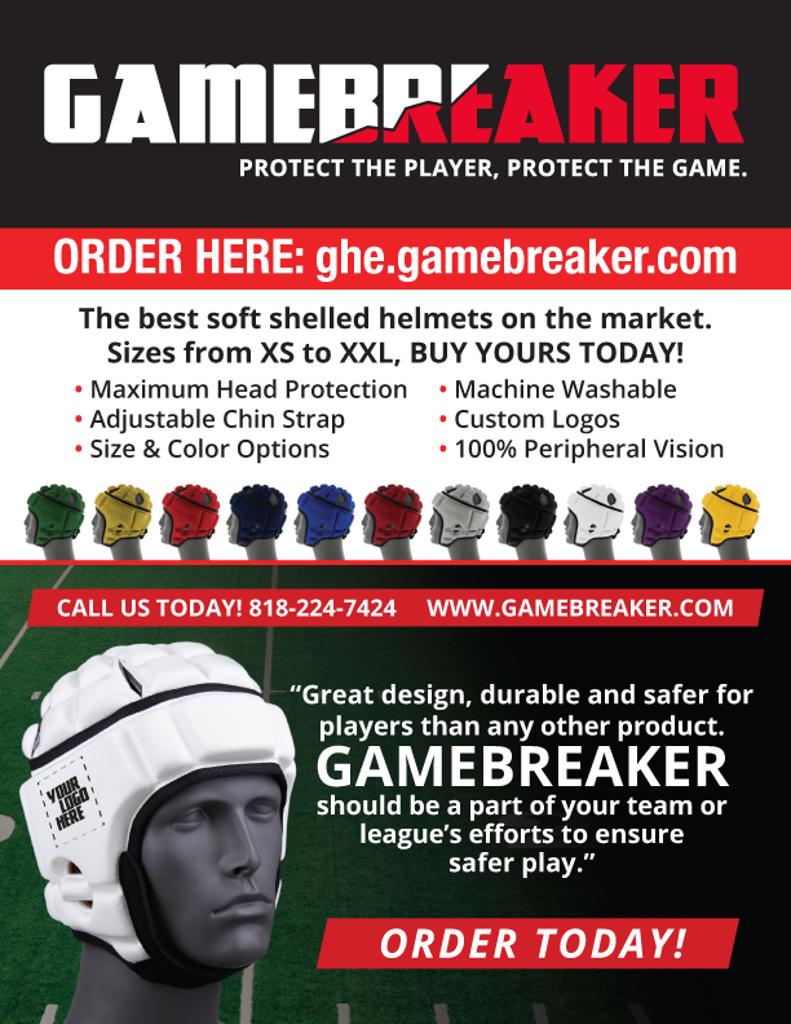 Gamebreaker Headgear partners with Bluegrass Championship Tournament