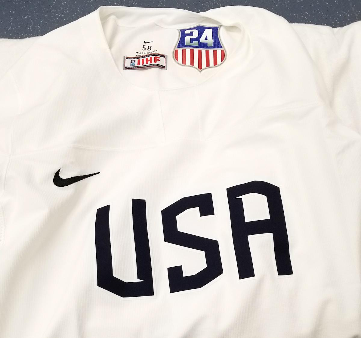 Both the Olympic Men's & Women's Team will wear a patch in honor of J.J. inside of their jerseys
