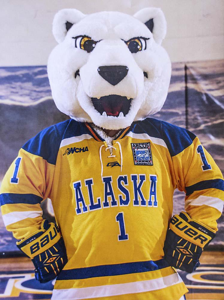 Nook the mascot is proud to represent all Nanooks, which is an Inuit word for polar bears.
