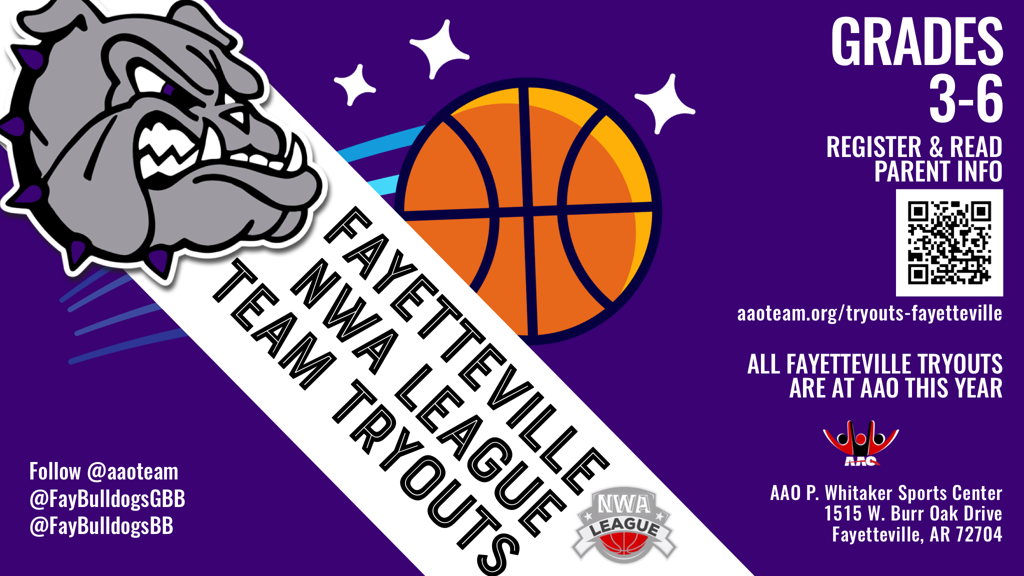Fayetteville Basketball Youth Team Tryouts
