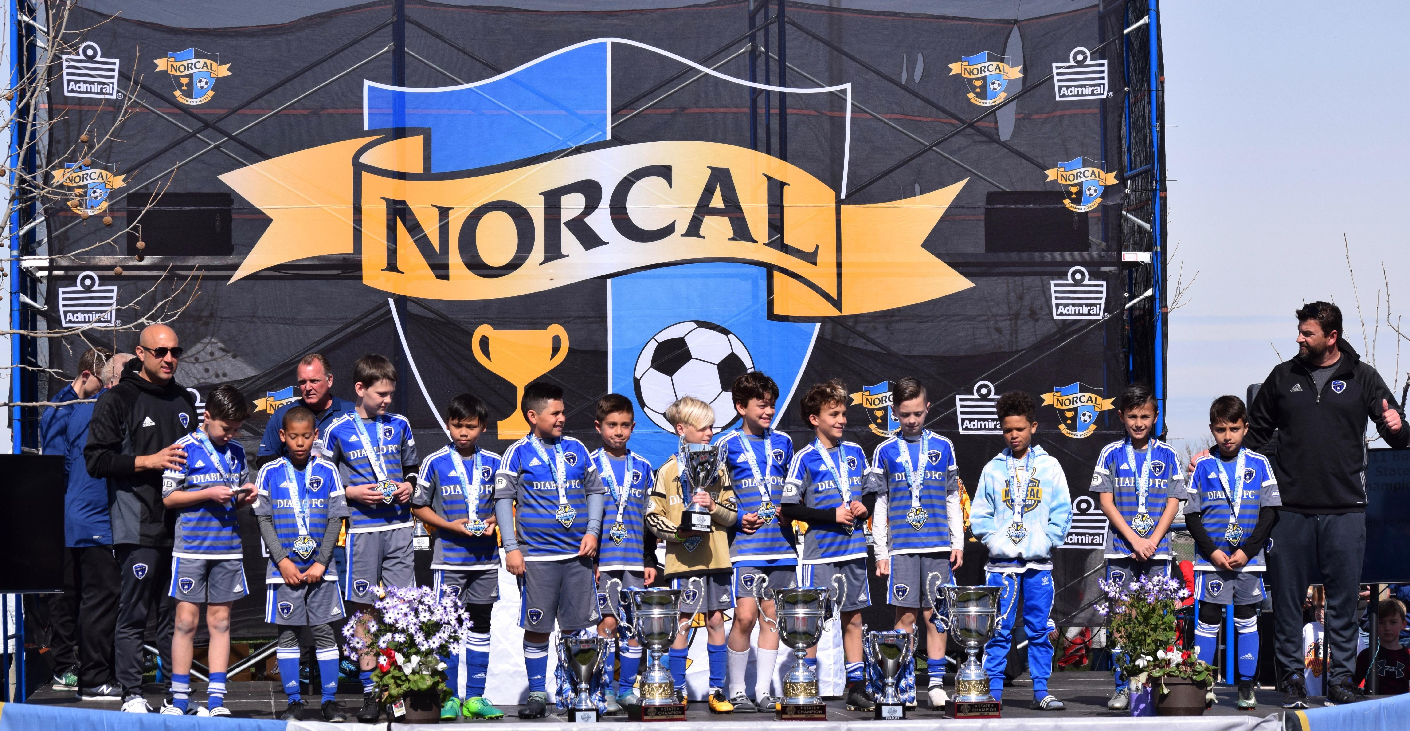 '07 Boys finish 2nd out of all teams in NorCal State Cup
