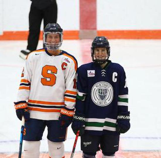 Former 2014-15 SC U18 Sabre Rachel Marmen,Alexa Vasko and Sarah Nelles named Captain and Co-Captain of the Mercyhurst University Womens Hockey. So Proud of all of you!