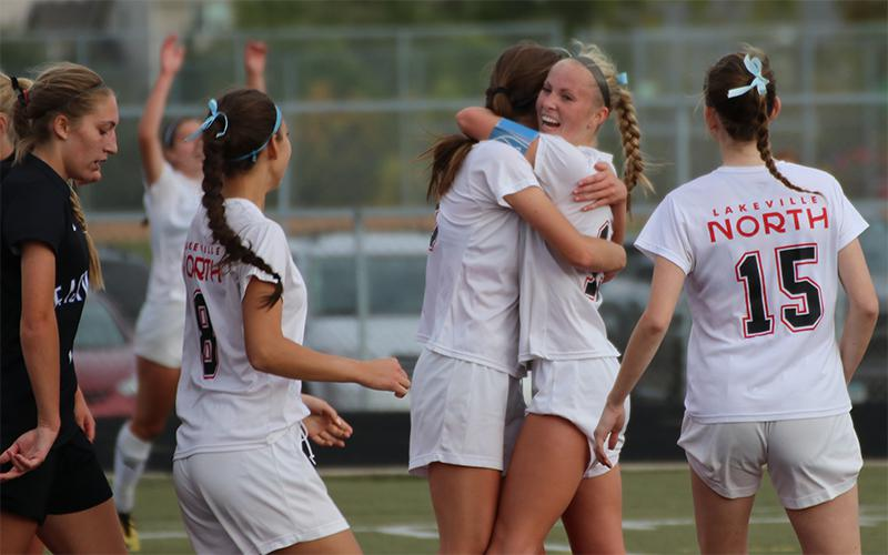 When Lakeville North and Eagan faced each other last season, the game ended in a 0-0 draw. This year boasts two strong defenses, so one goal might win it. Photo by Trevor Squire, SportsEngine