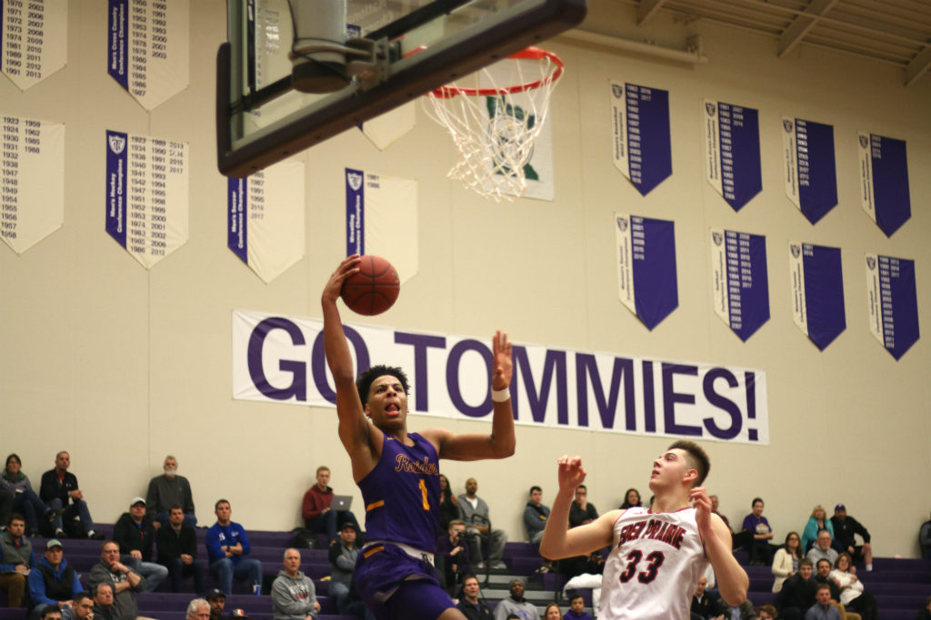Sy Chatman posted a team-leading 20 points in the Raiders' loss on Wednesday night. Photo by Trevor Squire, SportsEngine