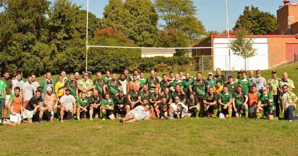 The club post match at the Marshal Sturm Memorial Match