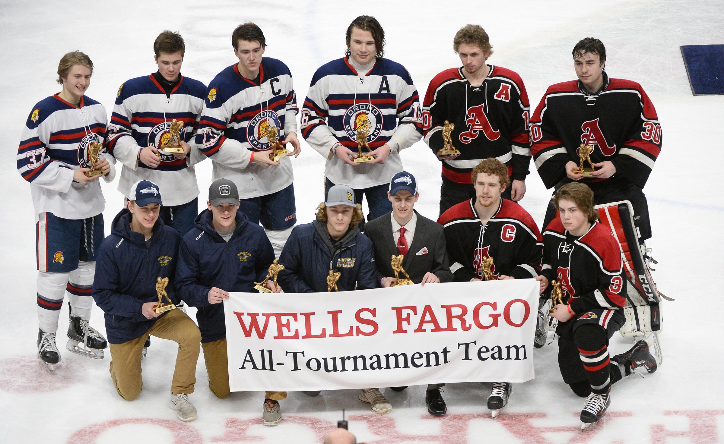 MN H.S.: Class 1A Boys' Hockey All-tournament Team