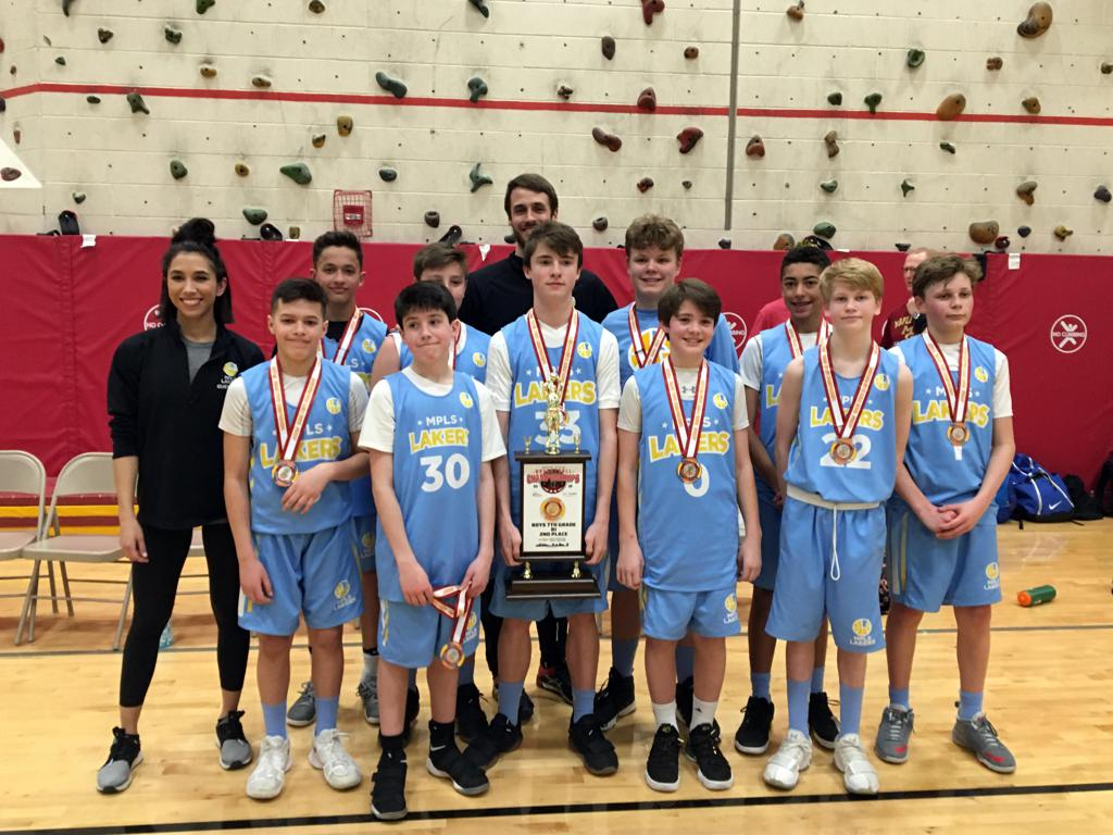 Boys 7th Grade Gold Take 2nd Place at State