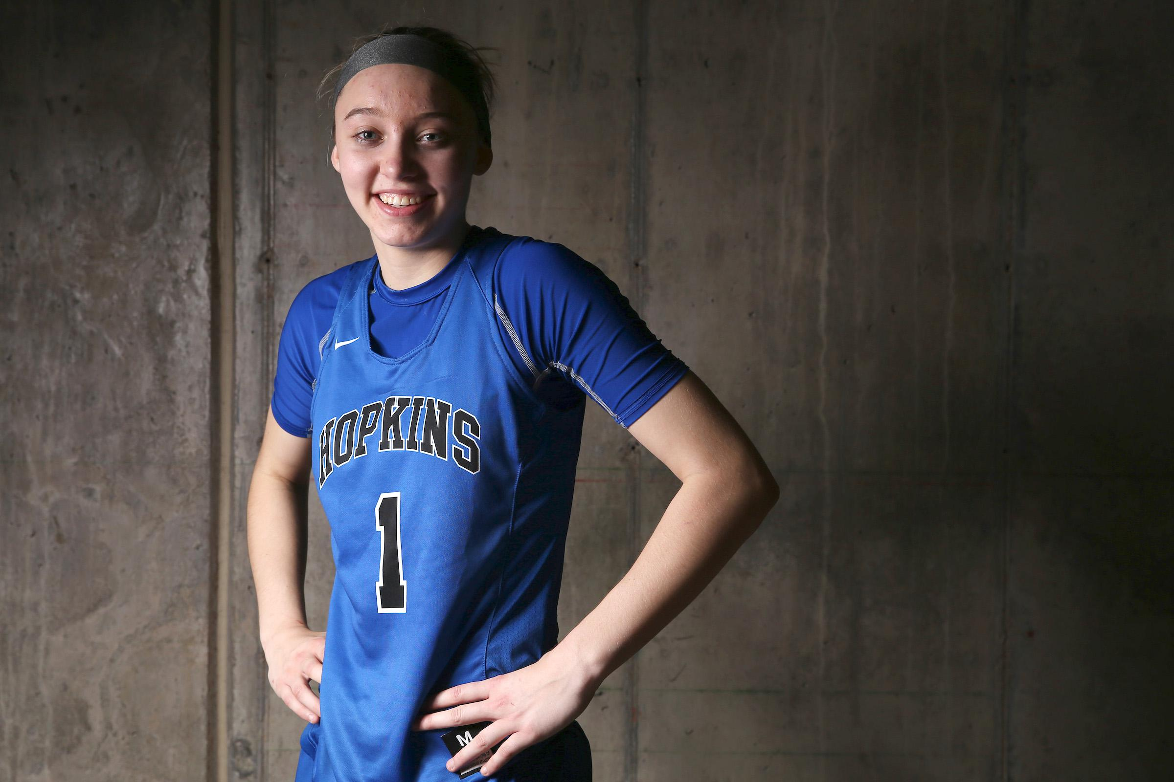 Hopkins' Paige Bueckers is Star Tribune Metro Player of the Year