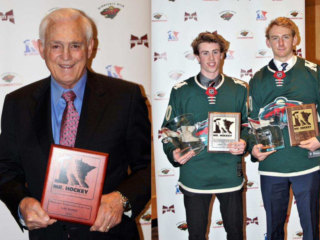 MN Mr Hockey Award Winner 2018