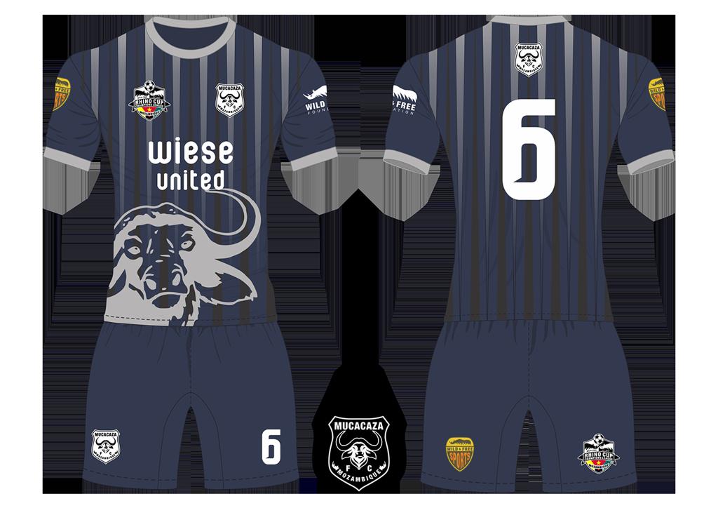 Mucacaza FC Buffalos Soccer Team Kit RCCL 2019