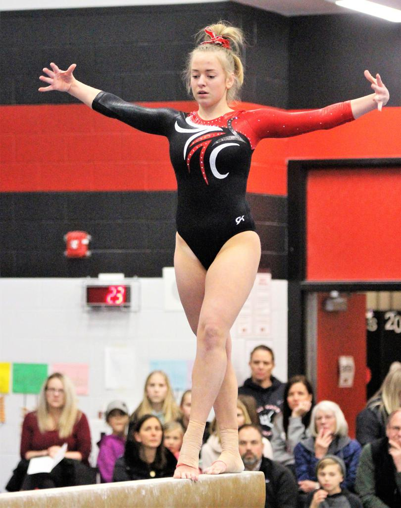for sale half price real quality Norwegian talent bolsters defending gymnastics state champ ...