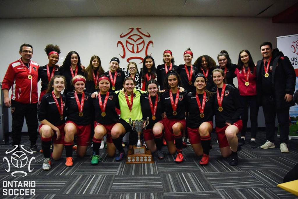 Indoor Ontario Cup Champions 2020