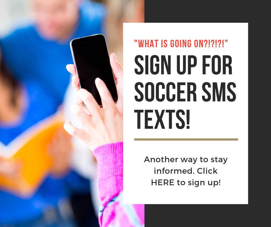 Click HERE to sign up for Text Alerts!