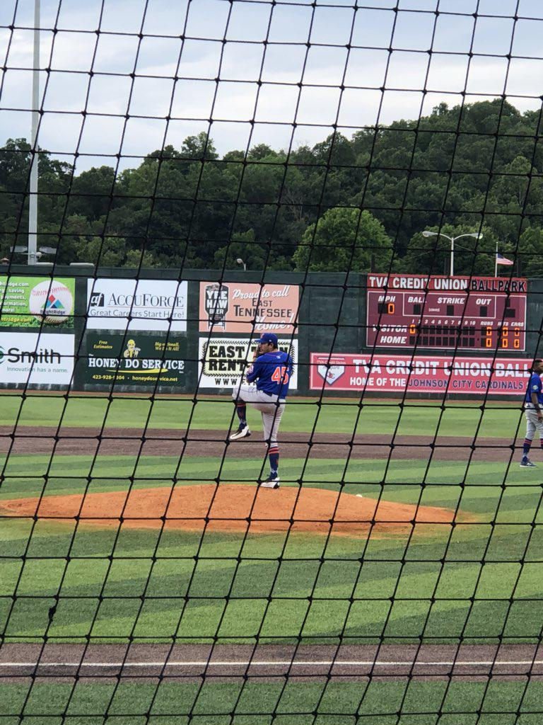 Starting Pitcher, Noah Nunez making his Mets' debut!
