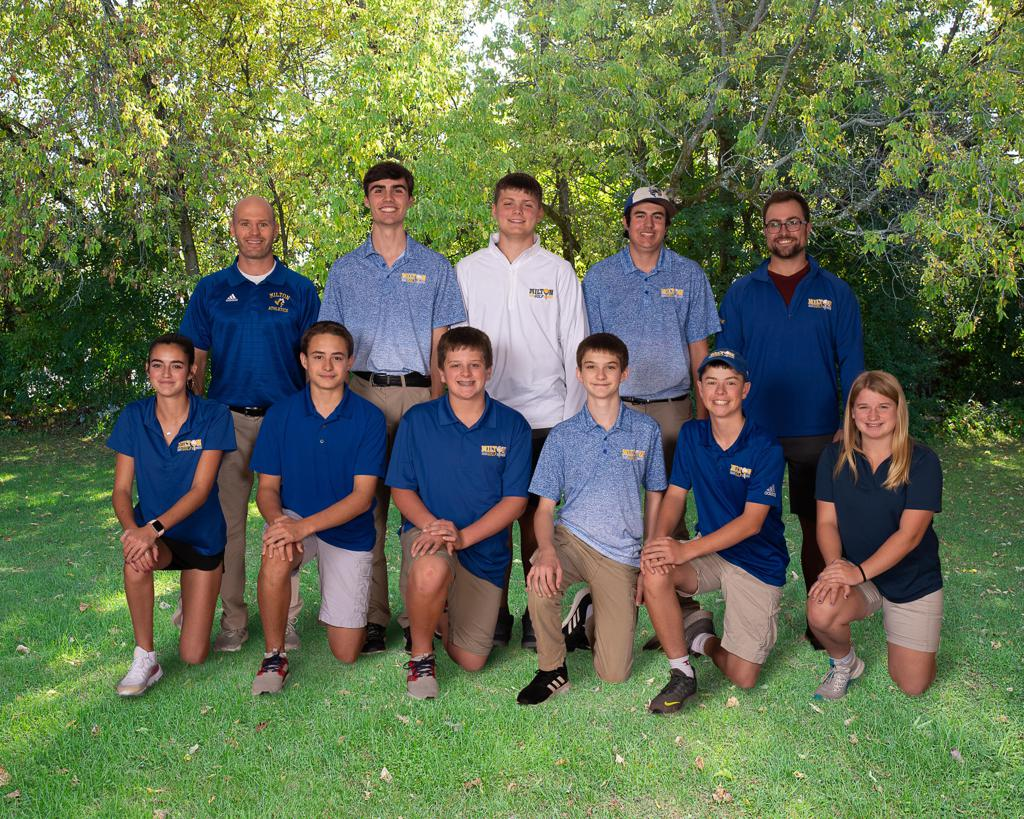 Golf 2019-20 Season Group Photo