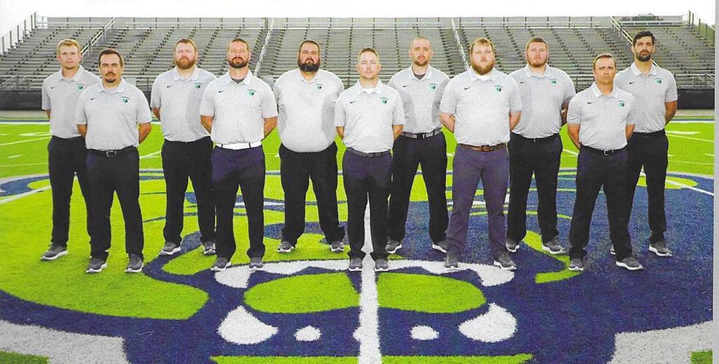 2021 Creekview Grizzlies Coaches