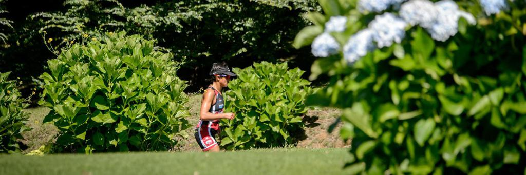 Knock -out run course at IRONMAN 70.3 Pucon in Chile.