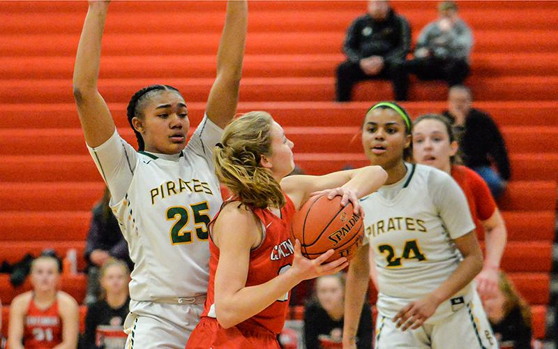 The Pirates are the top team in the Northwest Suburban Conference West Division and will meet the Crimson, the top program in the North Division, on Tuesday. Photo by Earl J. Ebensteiner, SportsEngine