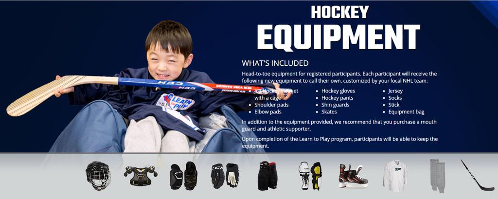 FREE EQUIPMENT INCLUDED WITH REGISTRATION