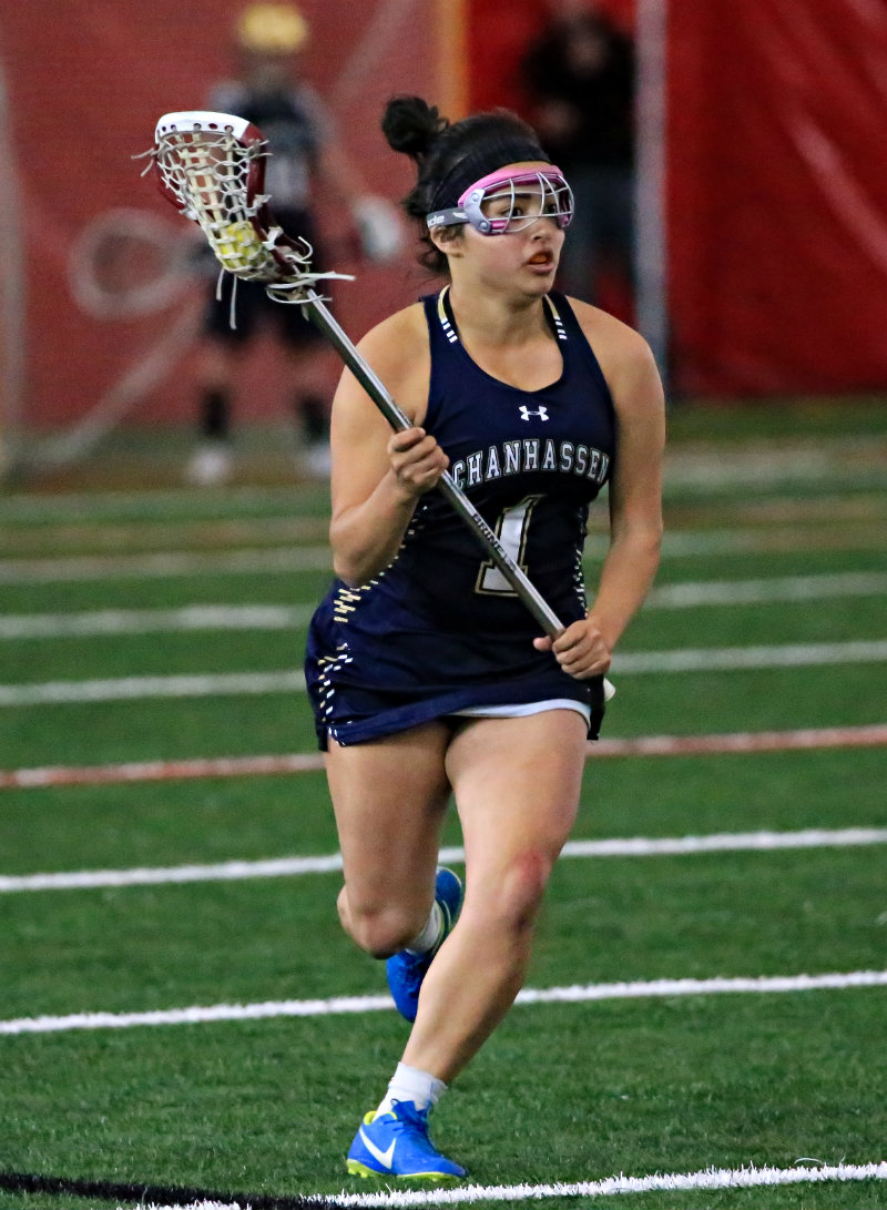 Chanhassen's Shea Kerry is one of seven Ms. Lacrosse Award finalists announced by the Minnesota Minute Men on June 7. The award is presented each spring to the state's most outstanding senior player in girls' lacrosse. Photo by Cheryl Myers, SportsEngine