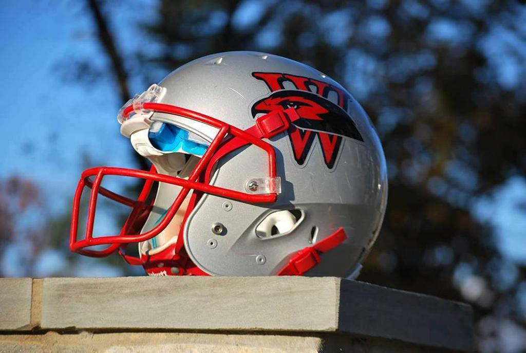 Howard County Warhawks Youth Football helmet
