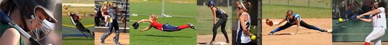 Action Photography Softball