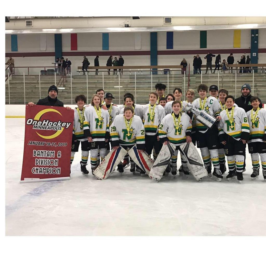 14u Bantam A One Hockey Minnesota Champs