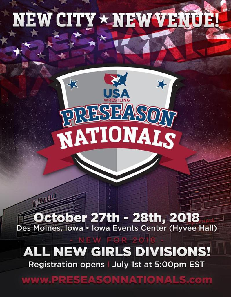 2018 USAW Preseason Nationals Information