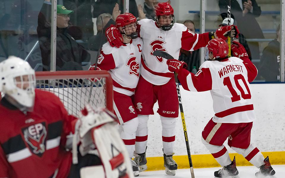 Benilde-St. Margaret's, one of six unbeaten teams left in the state, squares off against one-loss Eden Prairie on Tuesday. Photo by Gary Mukai, SportsEngine
